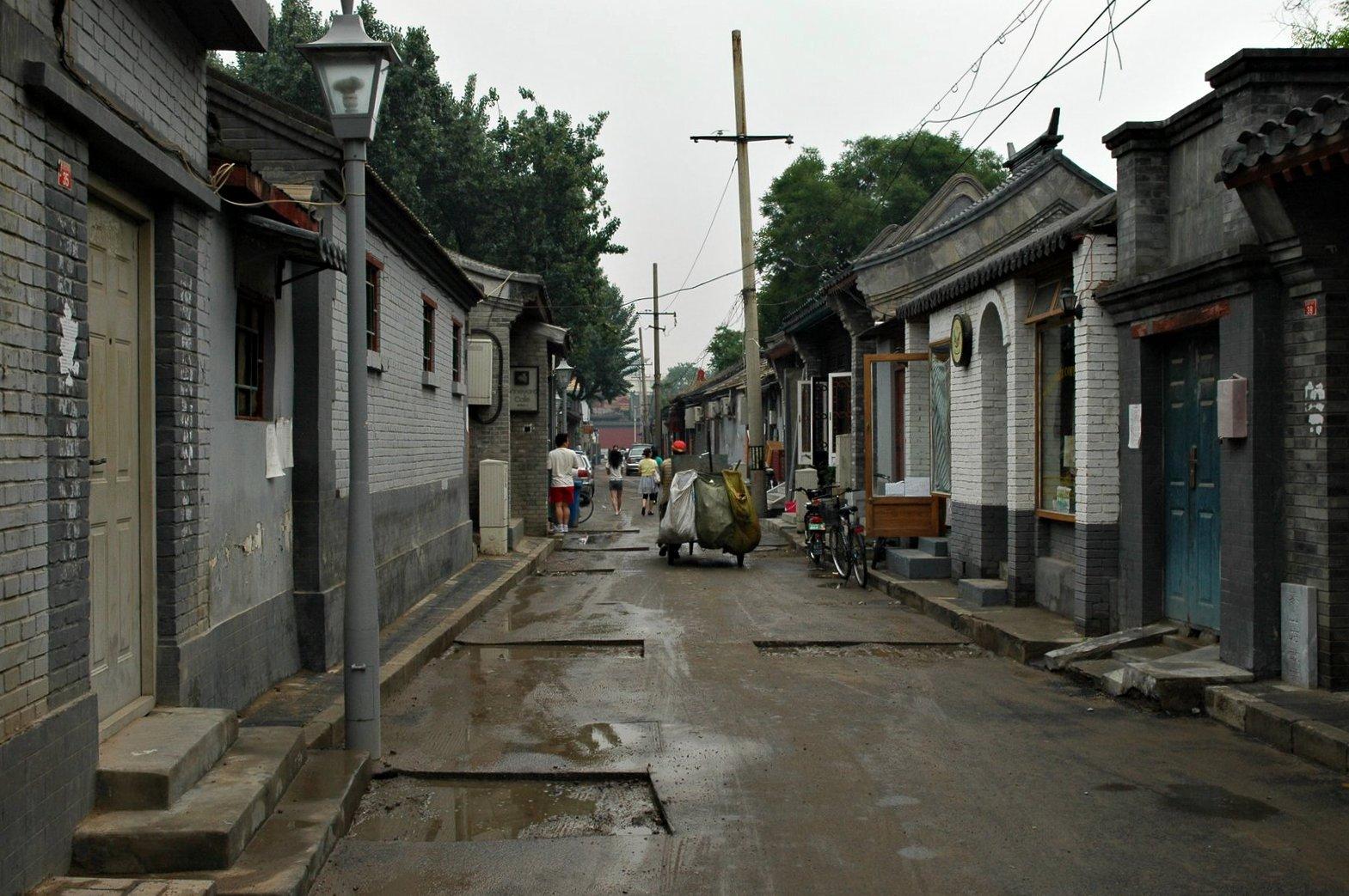 Un Hutong de Pékin