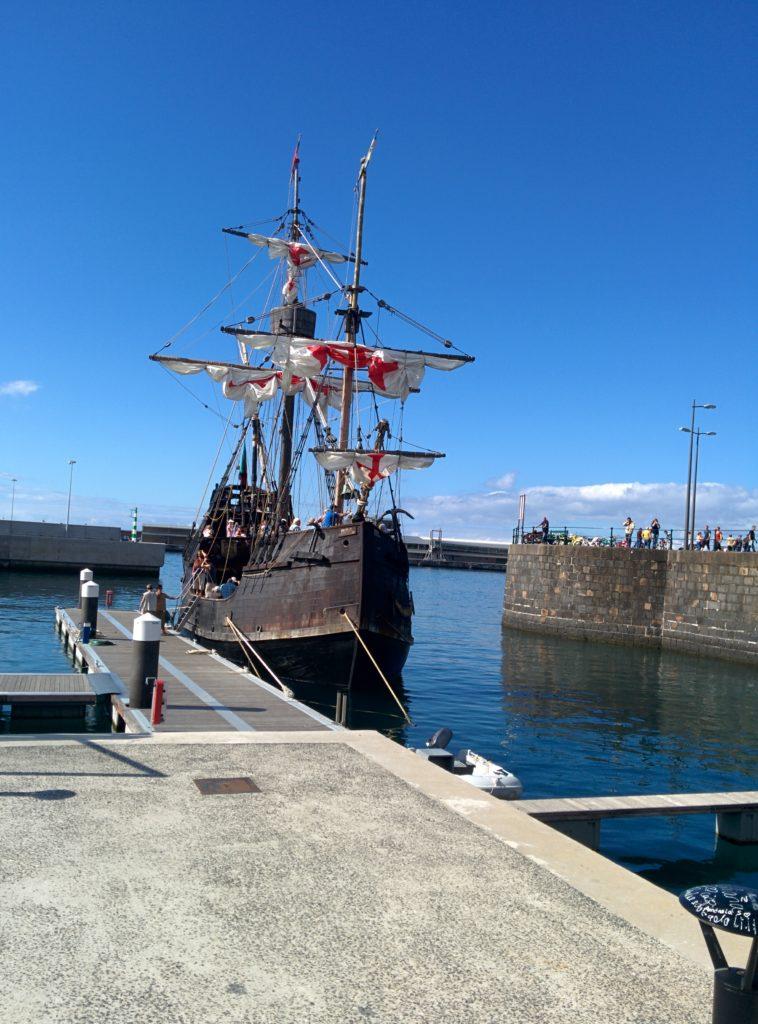 Santa Maria au port de Funchal à Madère