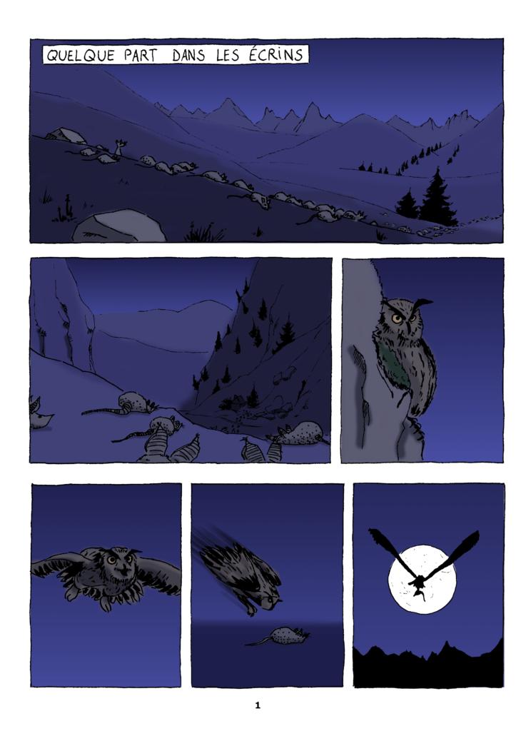 Le Hibou - page 1