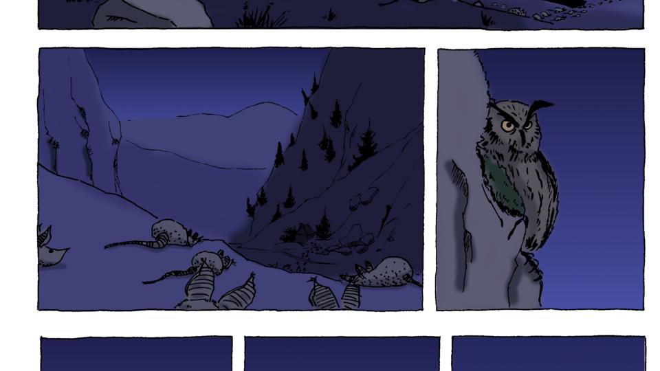 Le Hibou BD - page 1